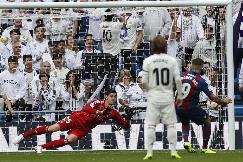 Levante un os pour Madrid. EFE