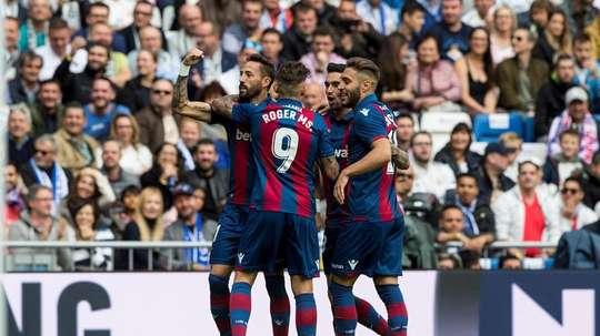 Pedro Morales consumó un sueño en el Bernabéu. EFE