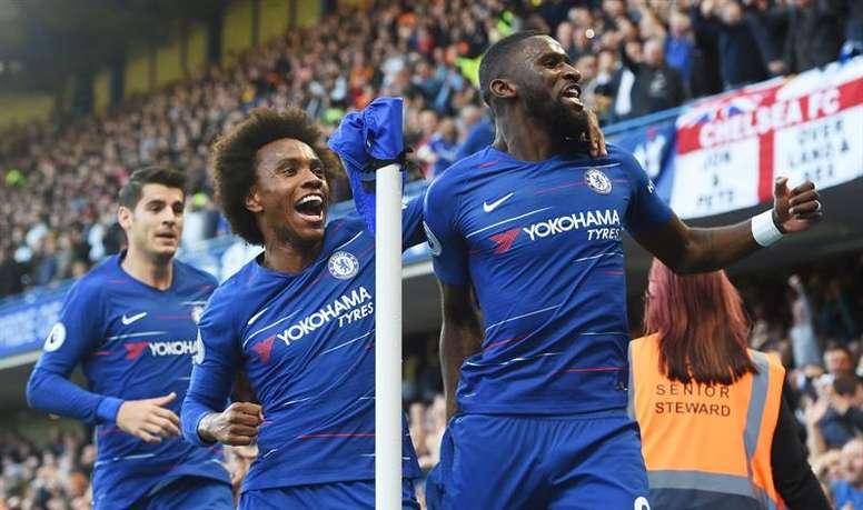 El central del Chelsea no está teniendo suerte con las lesiones. EFE