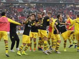 El líder de la Bundesliga está imparable. EFE