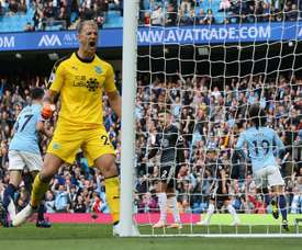 Joe Hart pourrait rejoindre Rooney à Derby County EFE