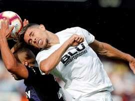 El Valencia volvió a empatar. EFE