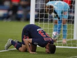 Draxler inició la goleada con el 3-0 a diez minutos del final. AFP