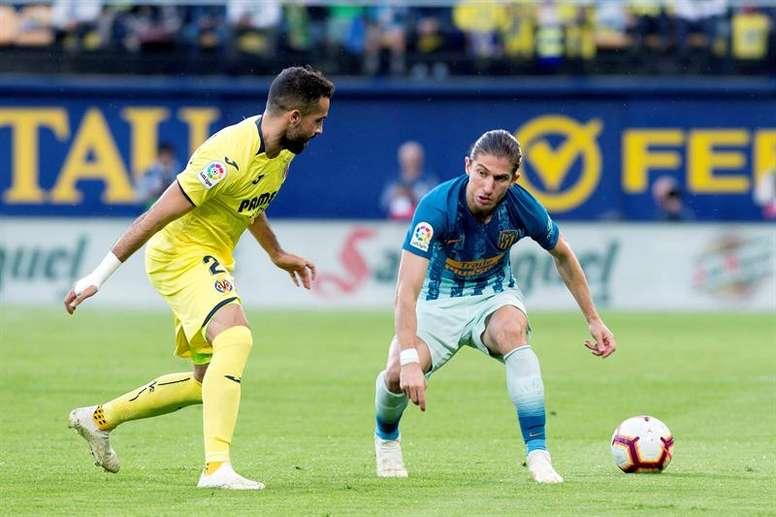 El gol de Filipe puso al Atlético líder unos minutos. EFE