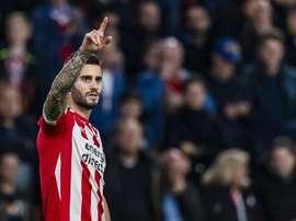 Gaston Pereiro may be on the verge of joining Milan. EFE/EPA