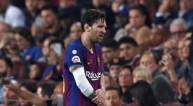 FC Barcelona Leo Messi. EFE