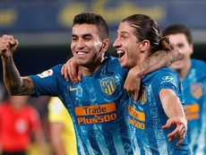 El Atlético empató ante el Villarreal. EFE