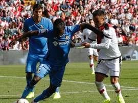 Djené serait candidat pour renforcer la défense de l'Atlético de Madrid. EFE