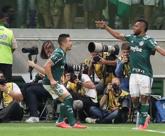 Palmeiras no pasó del empate ante el colista. EFE