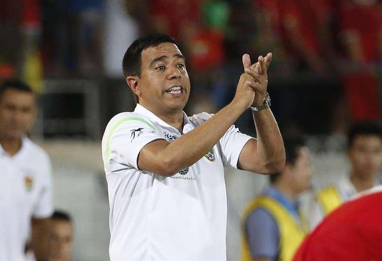 El nuevo seleccionador boliviano reivindicó las posibilidades de la 'Verde'. EFE