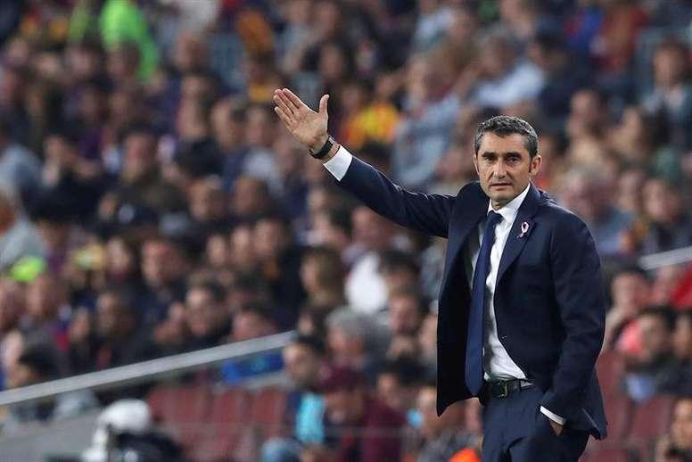 El Barça de Valverde pasa por un buen momento. EFE