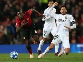 Pogba et les siens ont besoin des trois points. EFE