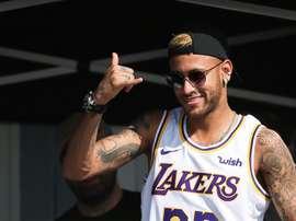 Neymar y Lancelloti coinciden en Londres. EFE