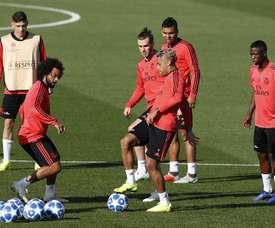 Gareth Bale e Vinicius. EFE