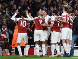 Arsenal have won nine games in a row coming in to this tie. EFE