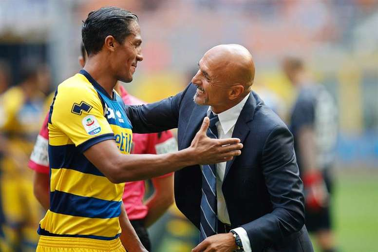 Parma are now safe from relegation. AFP