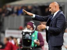 Spalletti dio la lista para el Barça-Inter. EFE
