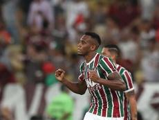 Fluminense y Nacional se enfrentan en la Sudamericana. EFE