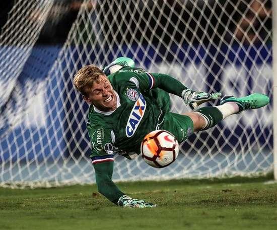 Bahía se impuso con rotundidad a un equipo de la Segunda División Brasileña. EFE/Archivo