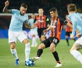 Manchester City ne laissera pas Otamendi retourner à Valence. EFE