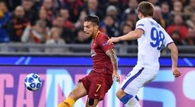 Lorenzo Pellegrini tiene contrato con la Roma hasta 2022. EFE