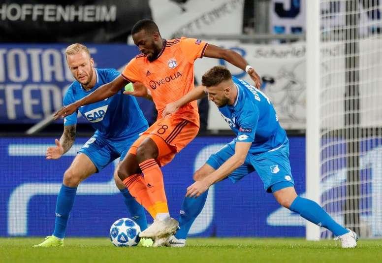 El Lyon da 'portazo' a Guardiola por Ndombele, seguido por el Madrid. EFE