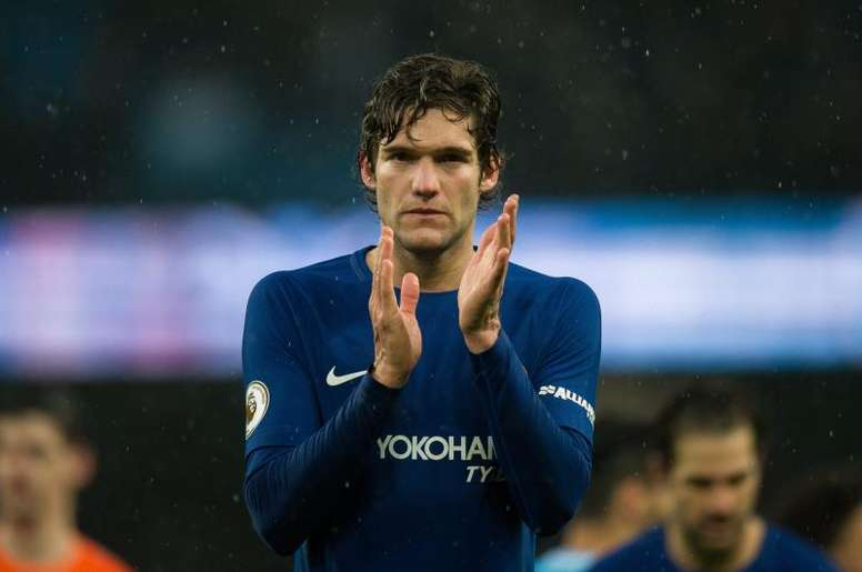 Marcos Alonso quiere ir al Atleti y el Chelsea ya lo sabe. EFE/Archivo