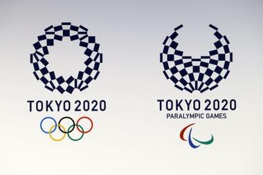 El logotipo de los Juegos Olímpicos y Paralímpicos de Tokio 2020. EFE/Archivo