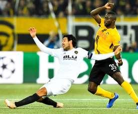 Sanogo est sous contrat avec les Young Boys jusqu'en 2021. EFE