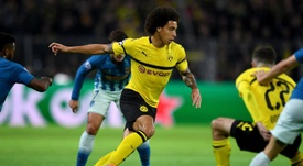 Axel Witsel opened the scoring for Dortmund with a deflected strike. AFP