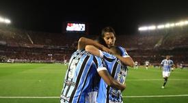Gremio estará en la fase de grupos de la Libertadores. EFE