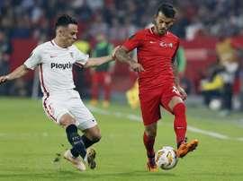 El Sevilla ganó por 6-0 en la ida. EFE