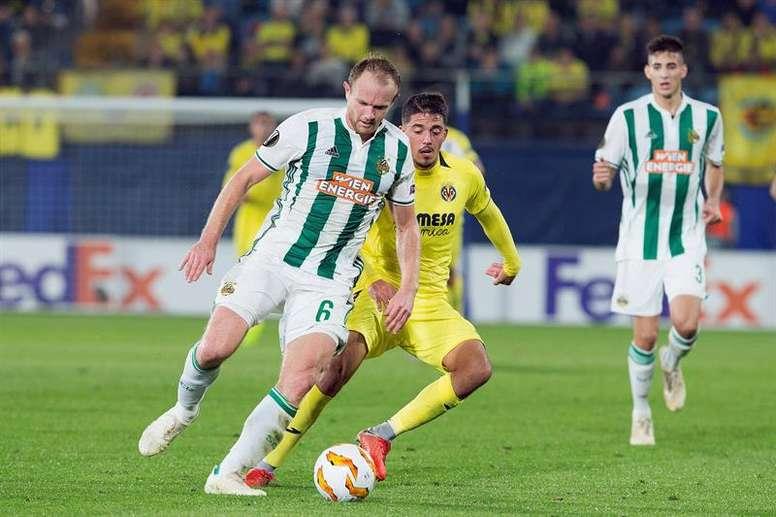 El Rapid es rival del Villarreal. EFE