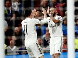 Bonne nouvelle pour le Real Madrid. EFE