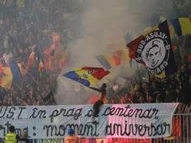 El Rumanía-Serbia se jugará sin publico. EFE