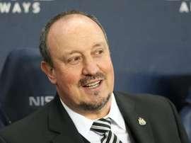 Benitez has seen his side win the last three games. EFE