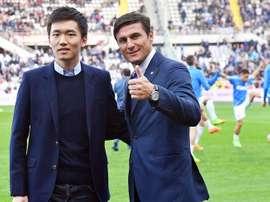 Zanetti habló sobre la importancia de Messi en Argentina. EFE/Archivo