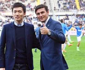 Zanetti falou de Messi e de Cristiano Ronaldo. EFE