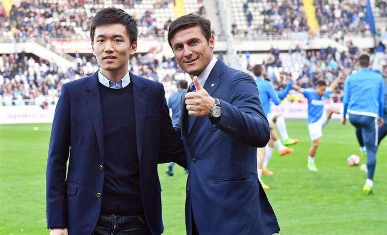 Presidente da Inter de Milão, Steven Zhang. EFE/Arquivo