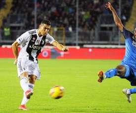 Dos goles y victoria de la Juve. EFE