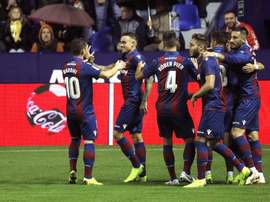 El Levante visitará Huesca, esta vez en la élite. EFE