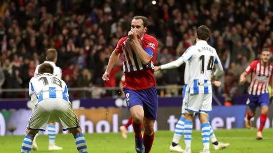 El capitán 'colchonero' se quedará en Madrid. EFE