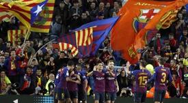 Camp Nou will host. EFE