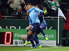 El Bayer arrasó al Werder Bremen a domicilio. EFE