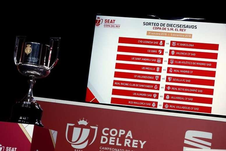 La UE Sant Andreu está lista para enfrentarse al Atlético. EFE