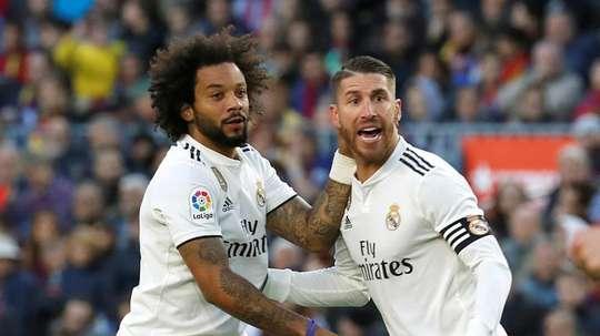 Marcelos vuelve, pero Ramos está tocado. EFE