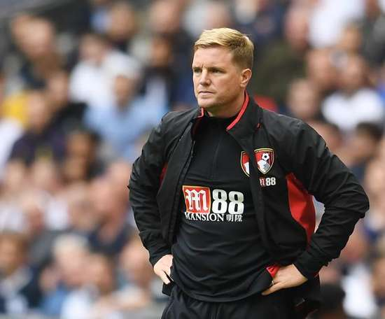 Howe is confident Bournemouth have what it takes to beat Manchester City. EFE