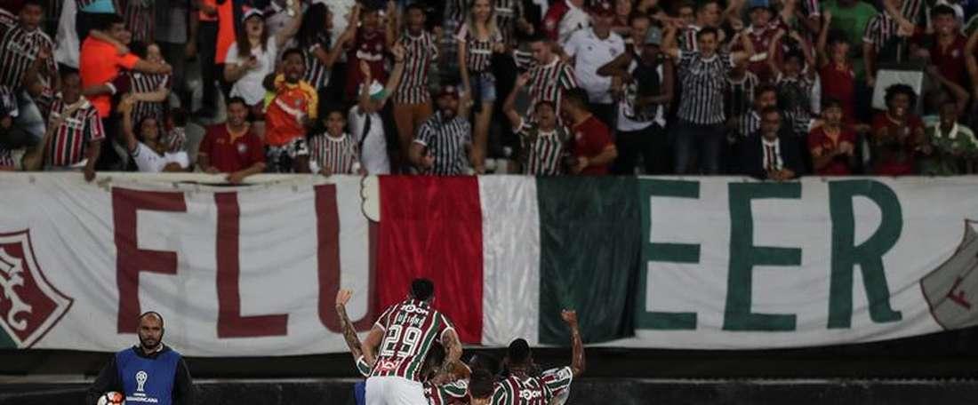Fluminense ya está en Montevideo. EFE/Archivo