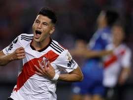 Palacios veut rester à River Plate. EFE