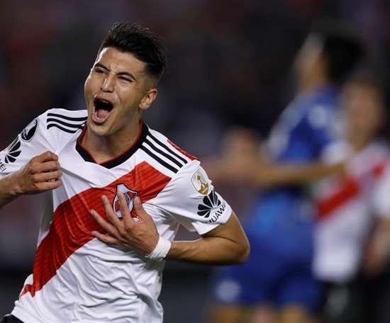 Palacios est pisté par le Real Madrid. EFE